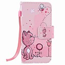 cheap iPod Cases/Covers-Case For iTouch 5/6 Pattern Full Body Cases PU Leather Hard