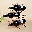 tanie Filiżanki i szklanki-Półki na wino Żeliwo, Wino Akcesoria Wysoka jakość TwórczyforBarware cm 0.15 kg 1szt