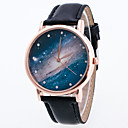 cheap Body Jewelry-Women's Wrist Watch Quartz Cool PU Band Analog Charm Vintage Casual Black / White / Blue - Blue Pink Dark Red One Year Battery Life