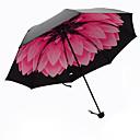 hesapli LED Araba Ampulleri-Plastik Erkek / Kadın's / Genç Kız Güneş Şemsiyesi Katlanan Şemsiye