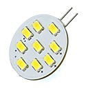 hesapli LED Bi-pin Işıklar-2W 420lm G4 LED Bi-pin Işıklar Tüp 9 LED Boncuklar SMD 5730 Serin Beyaz 12V