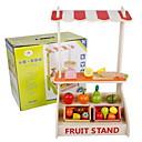 رخيصةأون خزانة غرفة النوم و المعيشة-لعب تمثيلي لعب المطبخ Apple حداثة خشبي للأطفال للفتيات ألعاب هدية 1 pcs