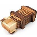 preiswerte Zauberrequisiten-Holzpuzzle Knobelspiele Kong Ming Geduldspiel Luban Geduldspiel Spielzeuge Spielzeuge Intelligenztest Mädchen Jungen Stücke