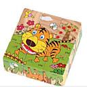 cheap Jigsaw Puzzles-Jigsaw Puzzles 3D Puzzles / Educational Toy / Jigsaw Puzzle Building Blocks DIY Toys Square 1 Wood Rainbow Leisure Hobby