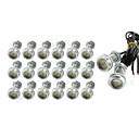 cheap Car Headlights-SO.K 20pcs 1156 Car Light Bulbs SMD 5630 180 lm Exterior Lights For universal