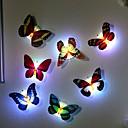 hesapli LED Gereçler-7 renk değişen kelebek led gece lambası lamba yüksek kalite