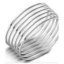 billige Armbånd-Dame Armringer Sølv damer Natur Armbånd Smykker Sølv Til Bursdag Gave Valentine