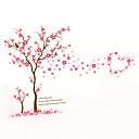 ieftine Acțibilde de Decorațiuni-Modă Florale Botanic Perete Postituri Autocolante perete plane Autocolante de Perete Decorative, Vinil Pagina de decorare de perete Decal