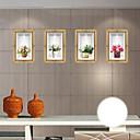 tanie Dekoracyjne naklejki-Dekoracyjne naklejki ścienne - Naklejki ścienne 3D Moda / Wzory roślinne / 3D Living Room / Sypialnia / Łazienka