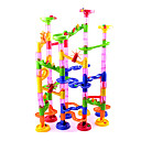 cheap Water Toys-Marble Run Race Construction Marble Track Set Marble Run STEAM Toy Novelty 105 pcs Kid's Unisex Boys' Girls' Toy Gift