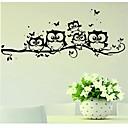 hesapli Duvar Sanatı-Hayvanlar Duvar Etiketler Uçak Duvar Çıkartmaları Dekoratif Duvar Çıkartmaları, Vinil Ev dekorasyonu Duvar Çıkartması Duvar Cam / Banyo
