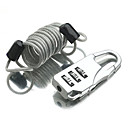 Buy Luggage Lock Padlock Coded Digit lock Mini Size Accessory Anti-theft Plastic Canvas Metal