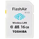 hesapli Telsizler-Toshiba 16GB WiFi SD Kart hafıza kartı Sınıf 10 Flash air
