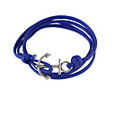 preiswerte Armbänder-Damen Wickelarmbänder - Leder Freunde Armbänder Schwarz / Blau Für Geschenk