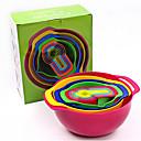 hesapli Meyve ve Sebze Araçları-Mutfak aletleri Plastik Yaratıcı Mutfak Gadget Meyve sepeti Pişirme Kaplar İçin 10pcs