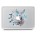 hesapli Mac Stickerlar-1 parça Deri Etiket için Çizilmeye Dayanıklı Manzara Tema PVC MacBook Pro 15'' with Retina MacBook Pro 15'' MacBook Pro 13'' with Retina