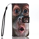 cheap iPhone Cases-Case For Apple iPhone 7 Plus iPhone 7 Card Holder Wallet with Stand Flip Pattern Full Body Cases Animal Hard PU Leather for iPhone 7 Plus