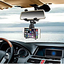 cheap Car Mounts & Holders-Car Phone Holder Car Rearview Mirror Mount Phone Holder For iPhone Samsung GPS Smartphone Stand Universal