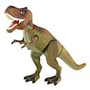 رخيصةأون خلخال-التنين والديناصورات ديناصور الشكل ترايسيراتوبس الديناصور الجوراسي تيرانوسوروس ريكس كهربائي بلاستيك للأطفال للصبيان ألعاب هدية