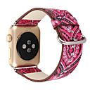 preiswerte Bekleidung & Accessoires für Hunde-Uhrenarmband für Apple Watch Series 4/3/2/1 Apple Klassische Schnalle Echtes Leder Handschlaufe