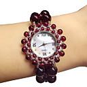 ieftine Ceasuri Damă-Pentru femei Ceas La Modă Quartz Jade Roșu Analog Roșu Închis