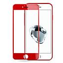 Χαμηλού Κόστους Θήκες iPhone-Προστατευτικό οθόνης Apple για iPhone 7 Σκληρυμένο Γυαλί 1 τμχ Προστατευτικό μπροστινής οθόνης Κυρτό άκρο 2,5D Επίπεδο σκληρότητας 9H