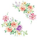 billige Dekorationsklistermærker-Mode Blomster Tegneserie Vægklistermærker Fly vægklistermærker Dekorative Mur Klistermærker, Vinyl Hjem Dekoration Vægoverføringsbillede