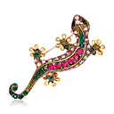 cheap Brooches-Women's Brooches - Rhinestone Animal Fashion, Euramerican Brooch Assorted Color For Wedding / Party / Special Occasion / Daily