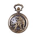 ieftine Ceasuri Bărbați-Bărbați Quartz Ceas de Mână Ceas de buzunar Ceas Casual Aliaj Bandă Charm Modă Bronz