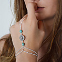 preiswerte Barfußsandalen-Damen Ring-Armbänder damas Europäisch Armbänder Schmuck Silber Für Alltag Normal Cosplay Kostüme