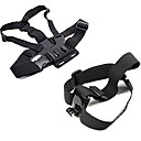 cheap Stacking Blocks-Chest Harness Front Mounting Foldable Adjustable Convenient For Action Camera Gopro 6 All Gopro Xiaomi Camera Gopro 4 Silver Gopro 4 Session Diving Surfing Ski / Snowboard Velcro Cotton ABS / SJCAM