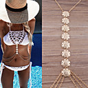 Buy Women's Body Jewelry Belly Chain Necklace Fashion Vintage Bohemian Hip-Hop Handmade Turkish Costume Copper