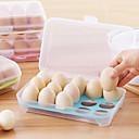 hesapli Erişim Kontrol Sistemleri-1 adet 15 adet boş mutfak buzdolabı yumurta saklama kutusu tutacağı muhafaza kutusu taşınabilir plastik koymak yumurta kutusu ev mutfak