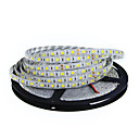 cheap Fruit & Vegetable Tools-5m Flexible LED Light Strips 300 LEDs 5050 SMD Warm White / White Cuttable / Linkable / Suitable for Vehicles 12 V / Self-adhesive / IP44