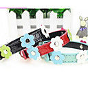 preiswerte Hundehalsbänder, Geschirre & Leinen-Katze Hund Halsbänder Traning Trompetenärmel Sicherheit Solide Nylon Regenbogen