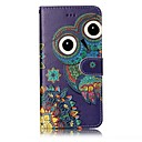 cheap iPhone Cases-Case For Apple iPhone X / iPhone 8 Wallet / Card Holder / Embossed Full Body Cases Owl Hard PU Leather for iPhone X / iPhone 8 Plus / iPhone 8