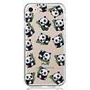 olcso iPhone tokok-Case Kompatibilitás Apple iPhone 8 / iPhone 8 Plus Minta Fekete tok Panda Puha TPU mert iPhone 8 Plus / iPhone 8 / iPhone 7 Plus