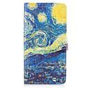 voordelige Overige hoesjes / covers voor Samsung-hoesje Voor Samsung Galaxy Kaarthouder Portemonnee met standaard Flip Volledig hoesje Landschap Hard PU-nahka voor On7(2016) On5(2016)