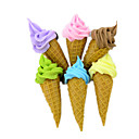 cheap Pretend Play-Toy Kitchen Set Toy Food / Play Food Pretend Play Ice Cream PVC(PolyVinyl Chloride) Unisex Boys' Girls' Toy Gift