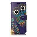 preiswerte Galaxy S Serie Hüllen / Cover-Hülle Für Samsung Galaxy S8 Plus S8 Kreditkartenfächer Geldbeutel mit Halterung Flipbare Hülle Magnetisch Muster Ganzkörper-Gehäuse Eule