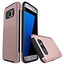 abordables Coques / Etuis pour Galaxy Série S-Coque Pour Samsung Galaxy S7 edge S7 Antichoc Coque Couleur unie Dur PC pour S7 edge S7 S6 edge S6