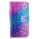 رخيصةأون حافظات / جرابات هواتف جالكسي S-غطاء من أجل Samsung Galaxy J7 (2016) J5 (2016) حامل البطاقات محفظة مع حامل قلب مغناطيس نموذج غطاء كامل للجسم حجر كريم قاسي جلد PU إلى J7