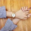 baratos Relógios Femininos-Mulheres Quartzo Único Criativo relógio Relógio de Pulso Bracele Relógio Chinês Relógio Casual Aço Inoxidável Banda Vintage Criativo