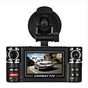 رخيصةأون جهاز فيديو DVR للسيارة-F30S HD 1280 x 720 سائق سيارة 120 درجة زاوية واسعة 2.7 بوصة داش كام مع مسجل السيارة