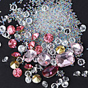 hesapli Makyaj ve Tırnak Bakımı-1 pcs Tırnak Takısı tırnak sanatı Manikür pedikür Günlük pırıltılar / madeni / Moda / Nail Jewelry