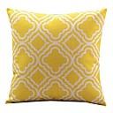 tanie Poduszki-1 szt Cotton / Linen Pokrywa Pillow / Poszewka na poduszkę, Nowość / Klasyczny / Modny Vintage / Na co dzień / Retro