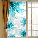 رخيصةأون تزيين المنزل-الأزهار/النباتية ملصق النافذة, PVC/Vinyl مادة نافذة الديكور غرفة المعيشة غرفة حمام شوب / مقهى المطبخ