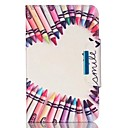 ieftine Carcase / Huse Galaxy S Series-Maska Pentru Samsung Galaxy Tab O 9.7 Titluar Card Portofel Cu Stand Întoarce Magnetic Carcasă Telefon Inimă Greu PU piele pentru Tab 4