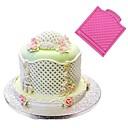 hesapli Fırın Araçları ve Gereçleri-Bakeware araçları Silikon Kauçuk / Silikon Yapışmaz / Pişirme Aracı / Doğum Dünü Kurabiye / Çikolota / Pişirme Kaplar İçin Pasta Kalıpları