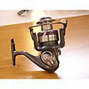 billige Fiskespoler-Fishing Reel Bearing Spinne-hjul 5.2:1 Gear Forhold+12 Kulelager Hånd Orientering Byttbar Søfisking / Ferskvannsfiskere / Lokke Fiske - X3-4000 / Generelt fisking / Trolling- & Båtfiskeri